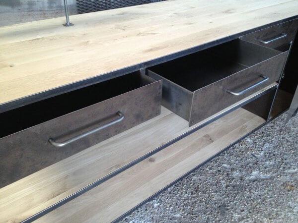 Keuken Werkbank Maken : soft close gasveer geleiding – voor industrieel gebruik in een keuken