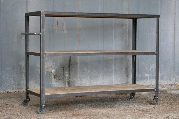 Kast Metalen Frame.Weinbergwoodworks Industriele Stalen Kasten